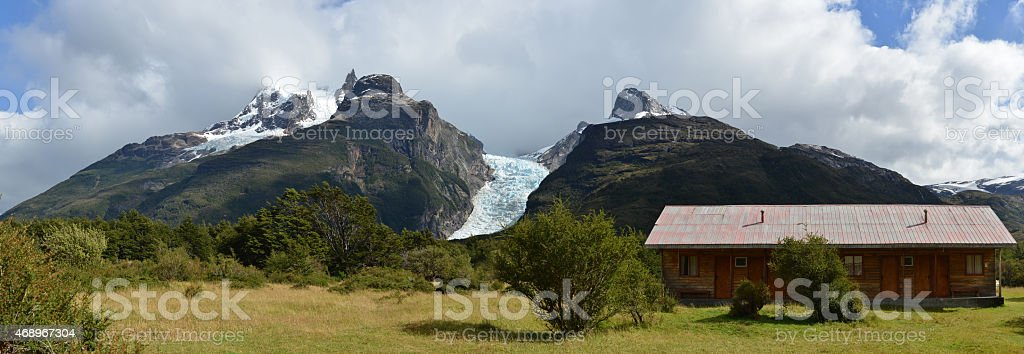 Andes of Patagonia, Chile stock photo