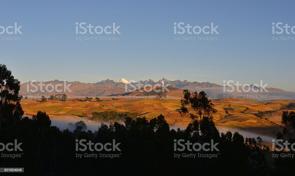 Andes, Peru stock photo