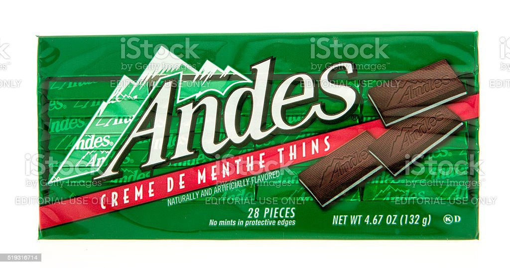 Andes stock photo
