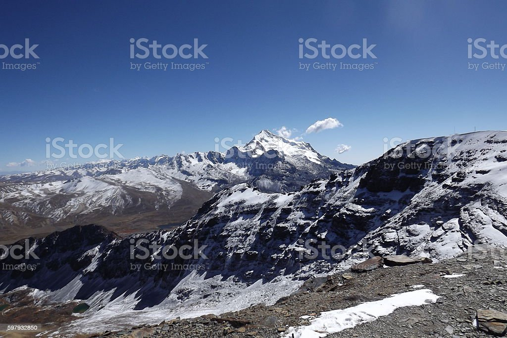Andes. stock photo