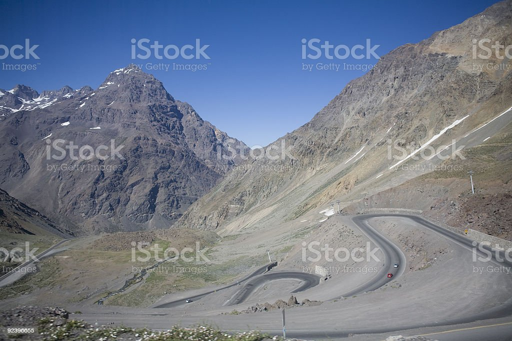 Andes royalty-free stock photo