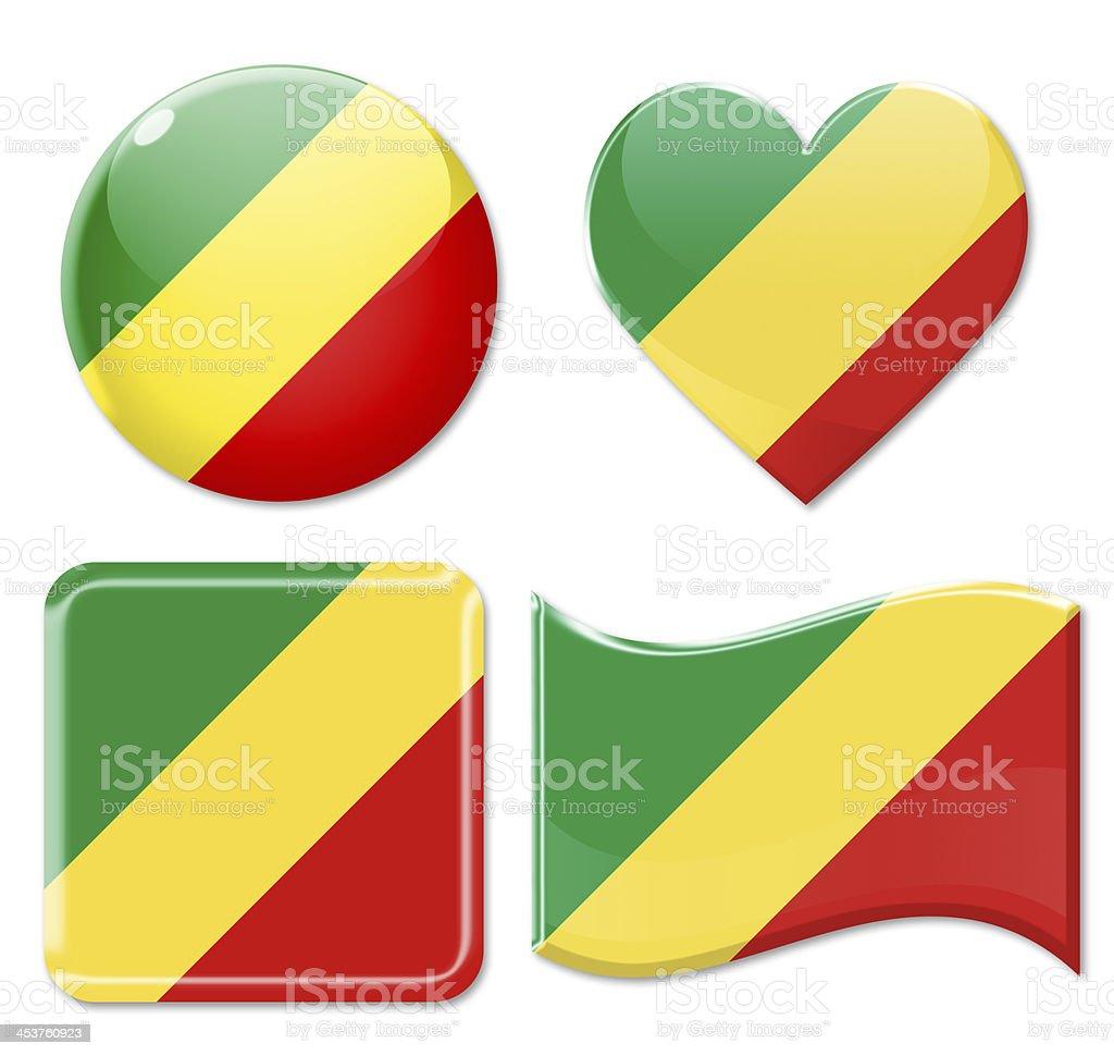Andorra Flags & Icon Set stock photo
