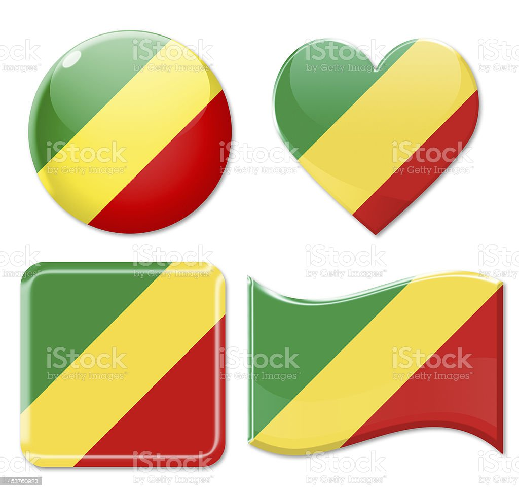 Andorra Flags & Icon Set stock photo