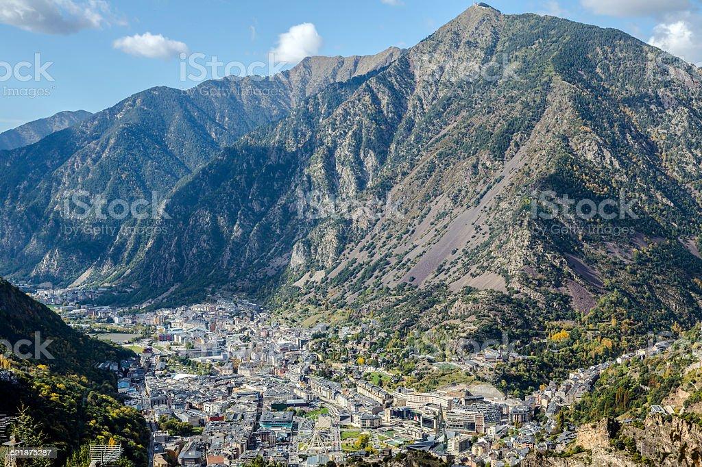 Andorra la Vella, Andorra stock photo