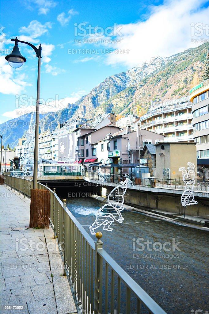 Andorra La Vella stock photo
