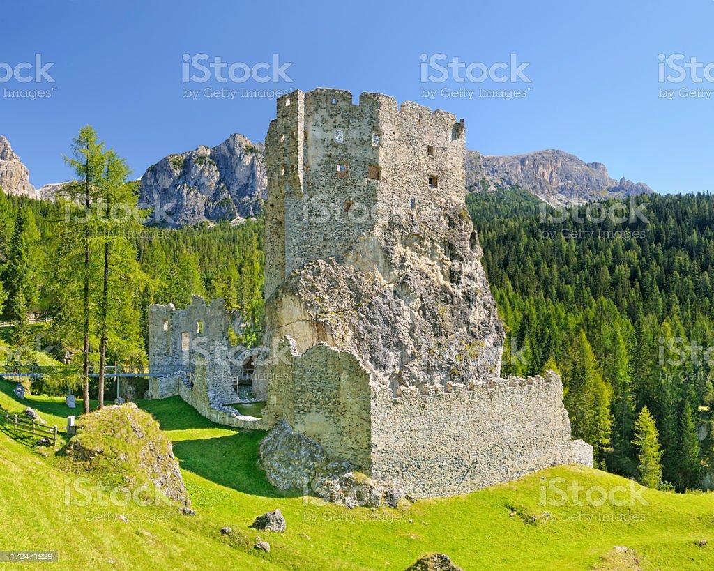 Andraz Castle royalty-free stock photo