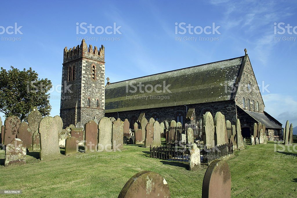 Andreas Church stock photo