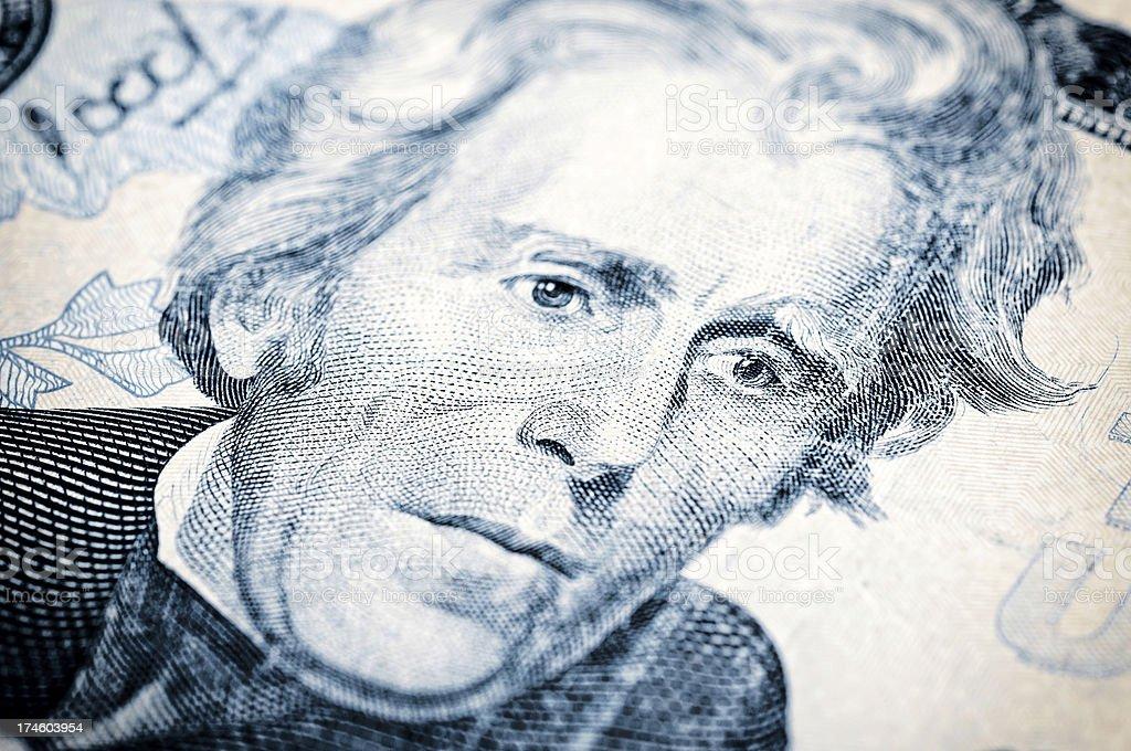 Andrew Jackson royalty-free stock photo
