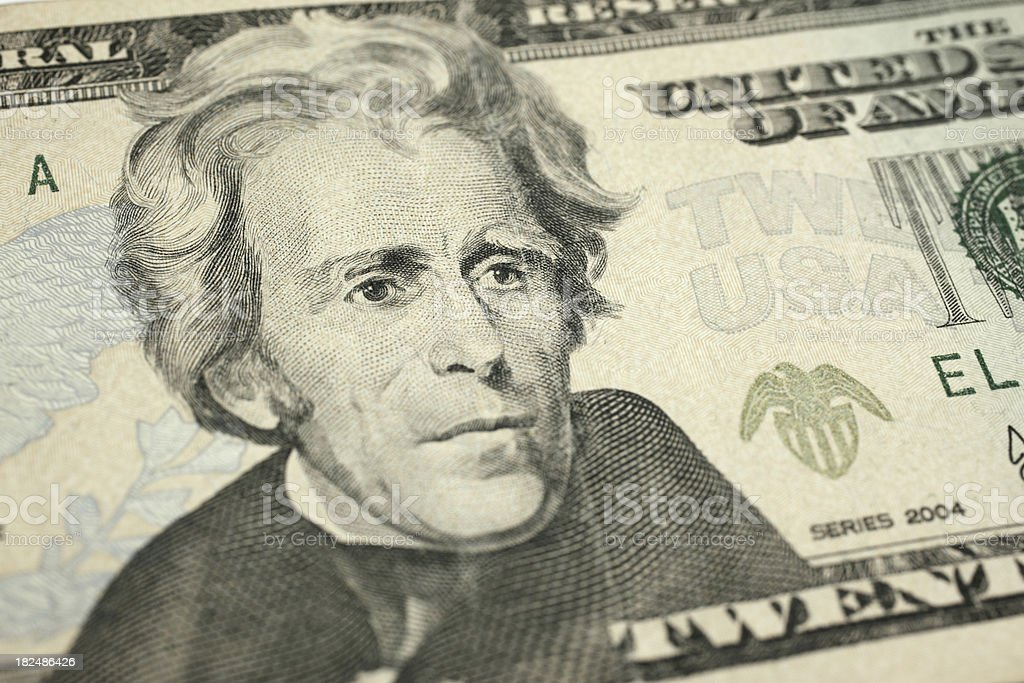 Andrew Jackson royalty-free stock photo