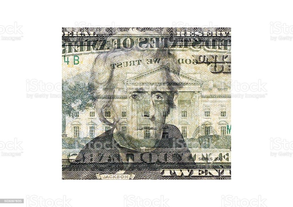 Andrew Jackson stock photo