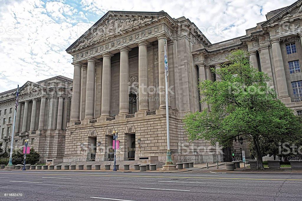 Andrew W Mellon Auditorium in Washington DC US stock photo