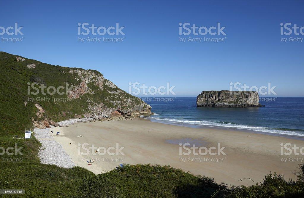 Andrin Beach stock photo