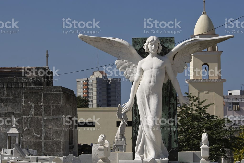 Andro Angel in Havana I stock photo