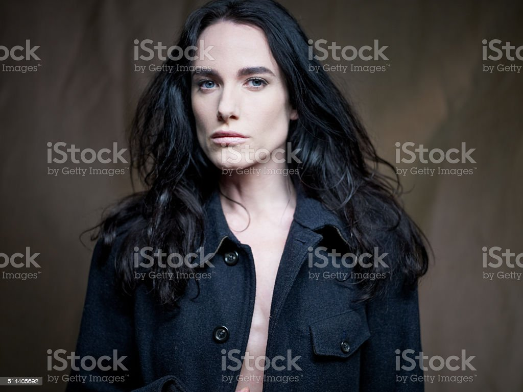 Androgenous Model stock photo