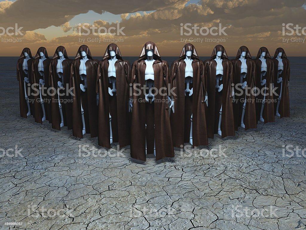 Android Mystics stock photo