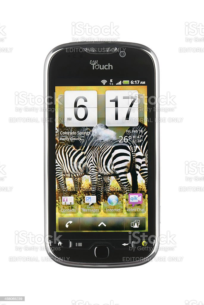 Android Phone royalty-free stock photo