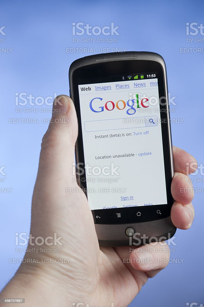 Android Phone stock photo