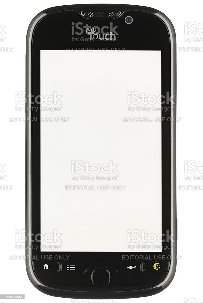 Android with a Blank Screen royalty-free stock photo