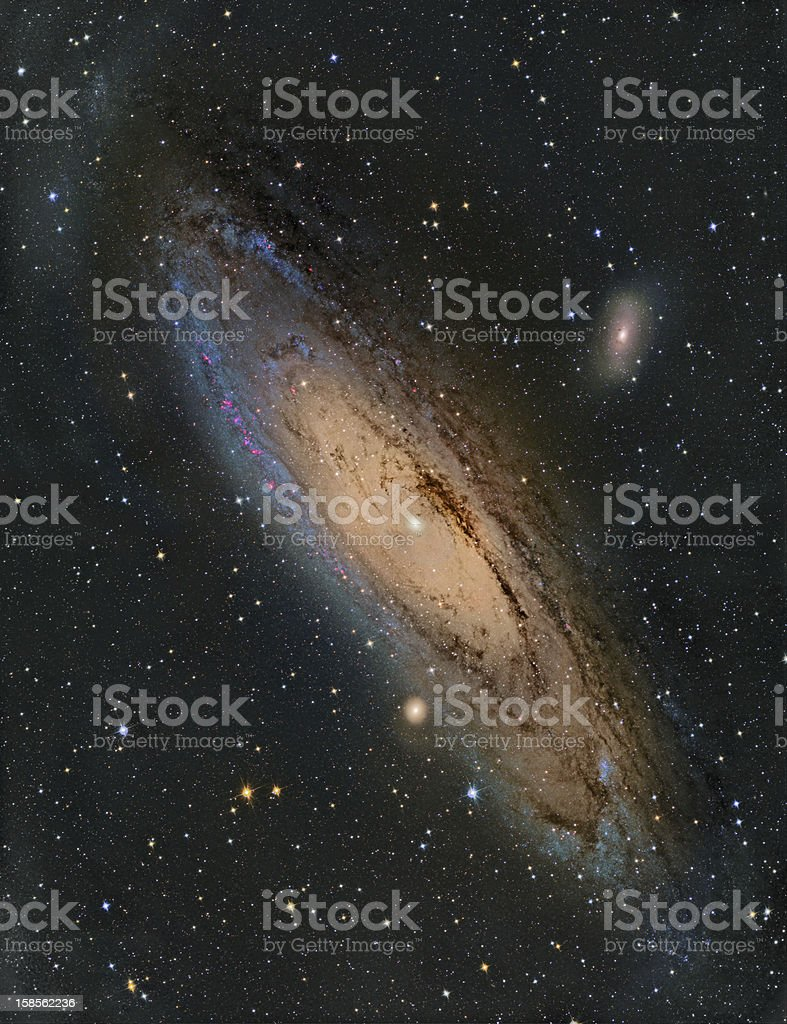 M31 Andromeda Galaxy royalty-free stock photo