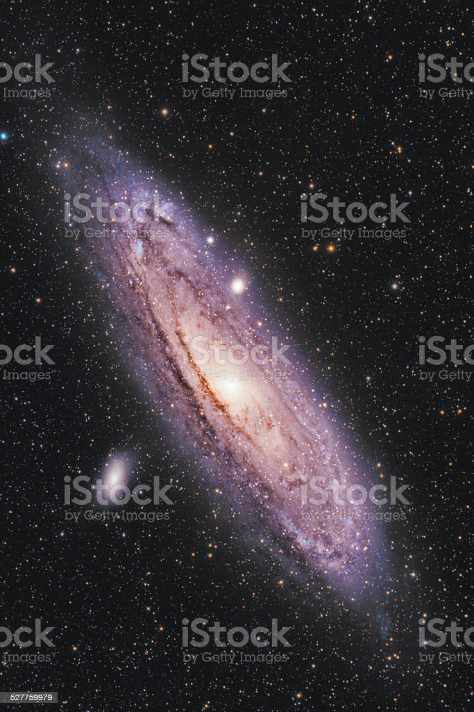 Andromeda Galaxy stock photo