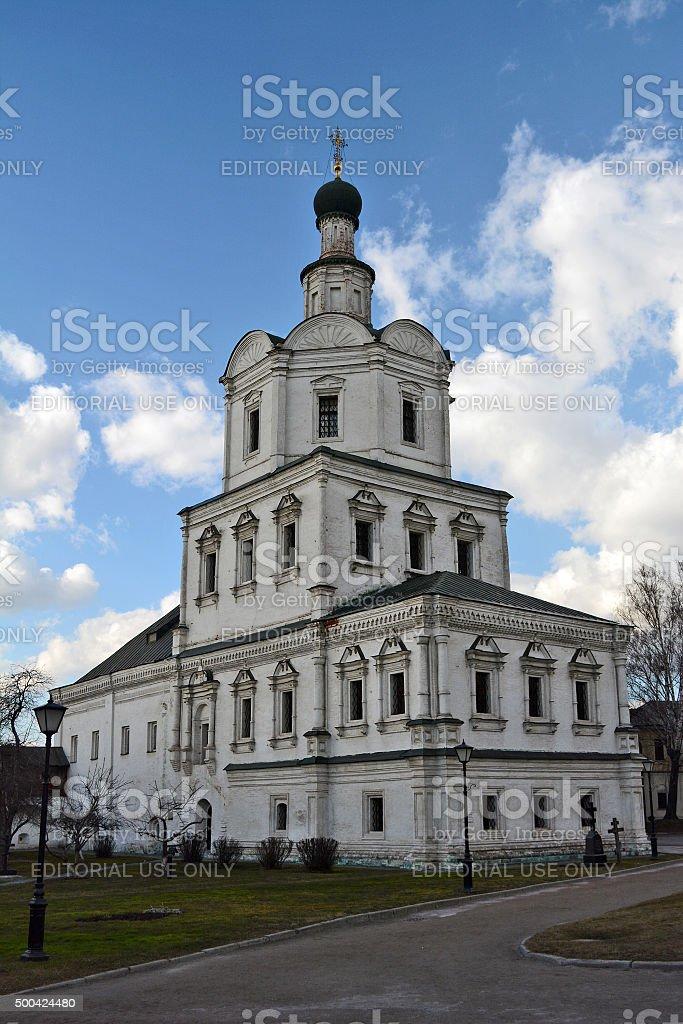 Andronikov Monastery stock photo