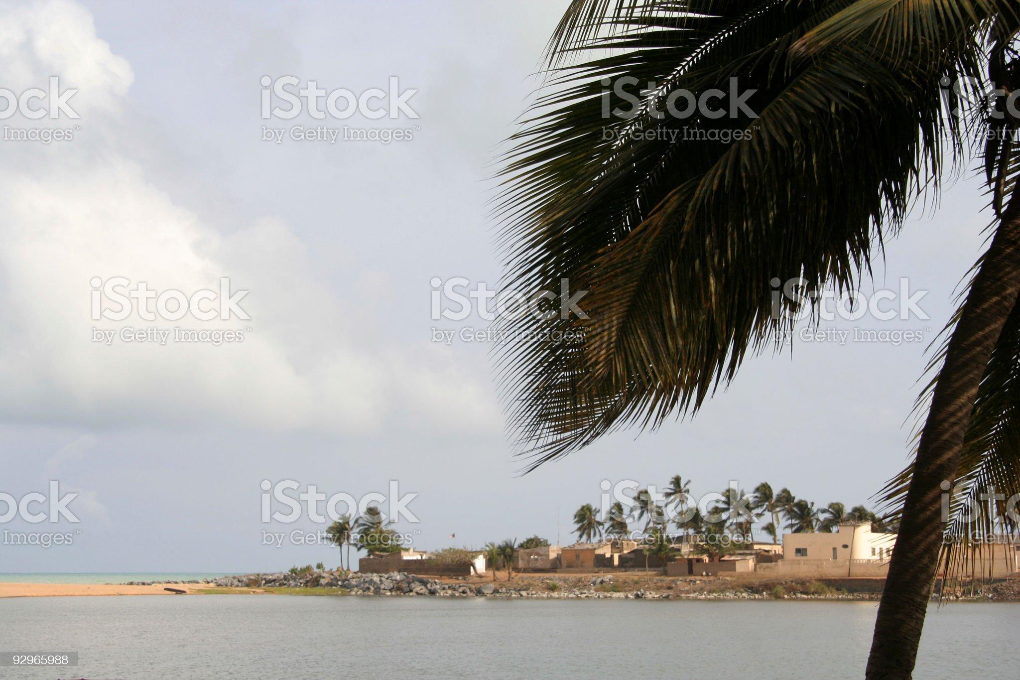 aneho beach royalty-free stock photo