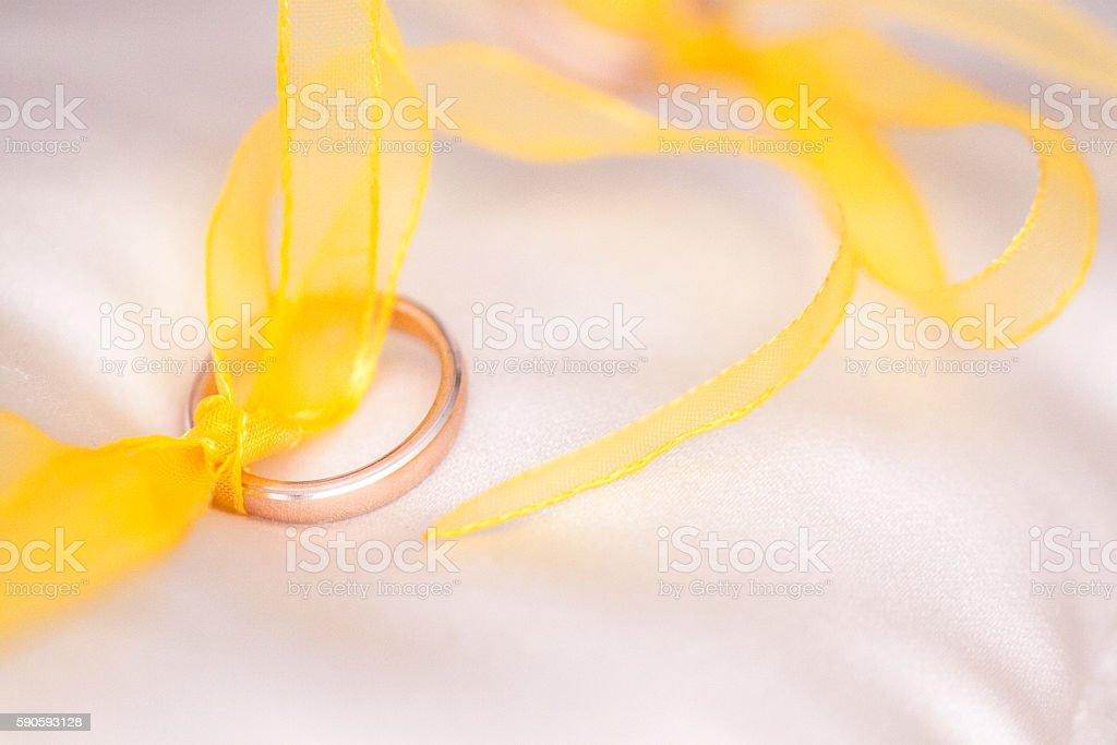 anello d'oro stock photo