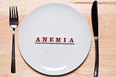 Anemia - healthy eating concept