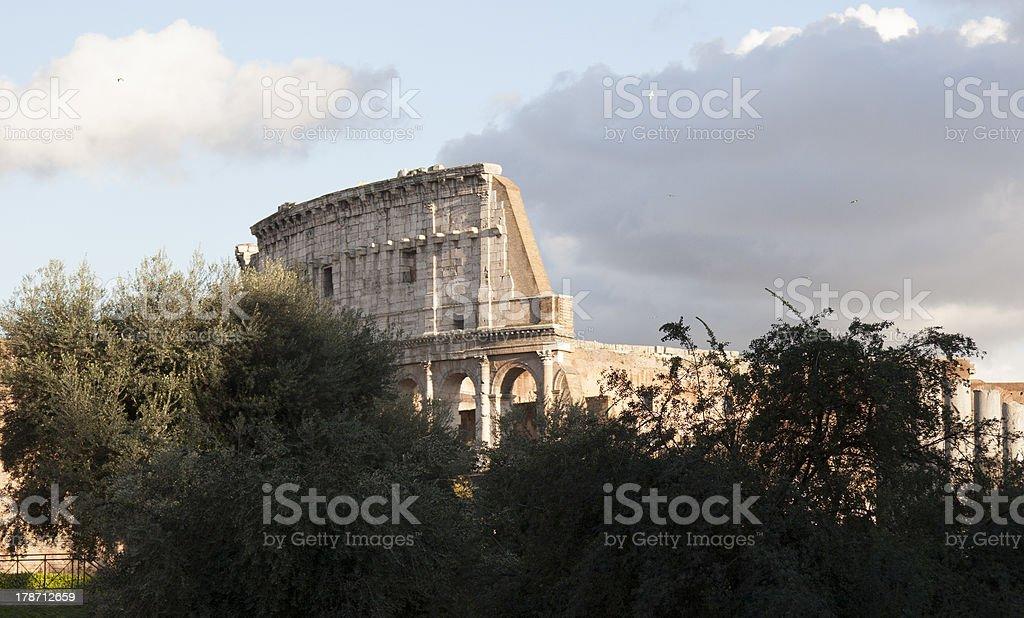 Anfiteatro Flavio - Colosseo di Roma royalty-free stock photo