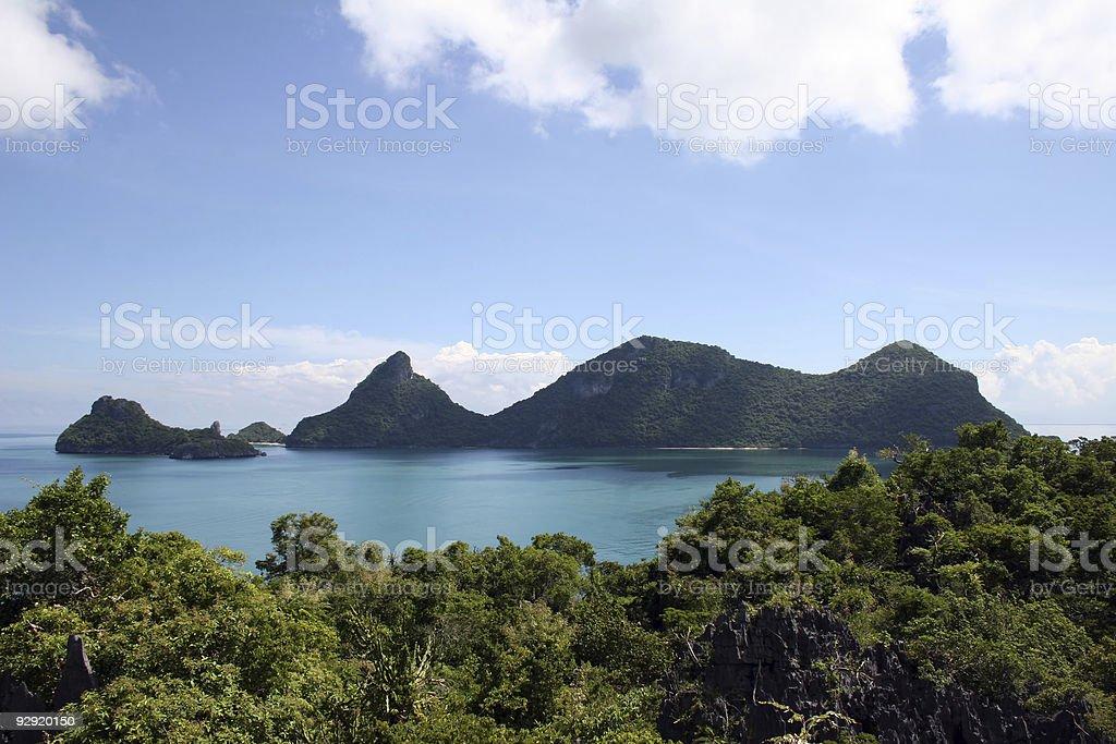 Ang Thong Islands - Thailand royalty-free stock photo