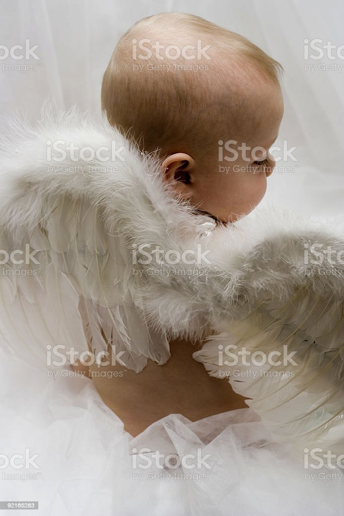 Angel Baby royalty-free stock photo