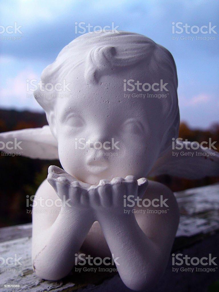 Angel Baby royalty-free stock photo