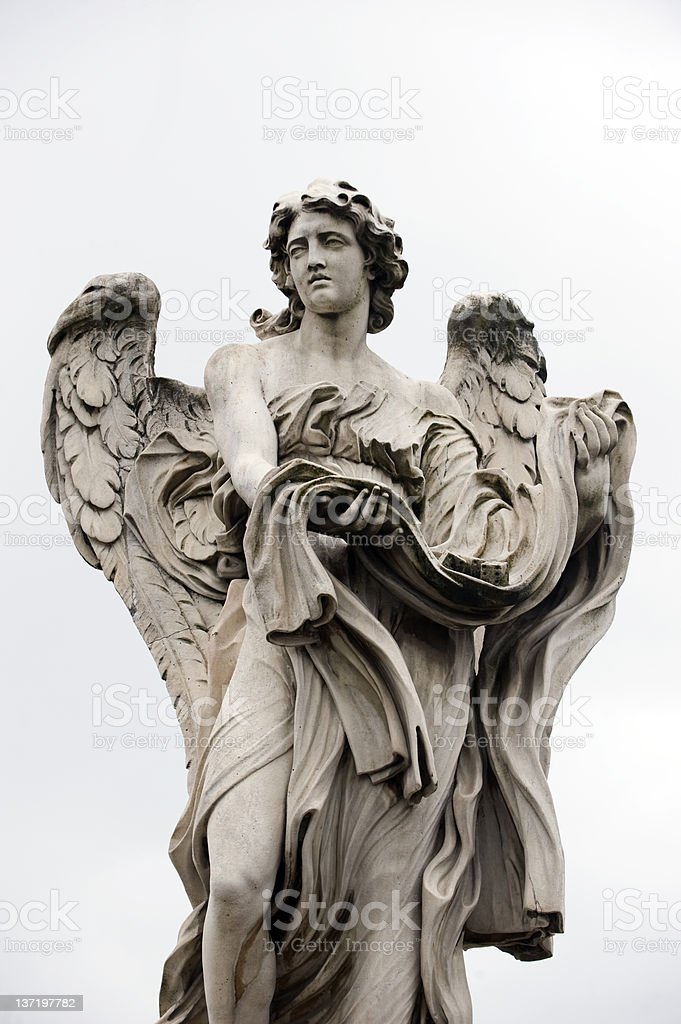 Angel by Bernini stock photo
