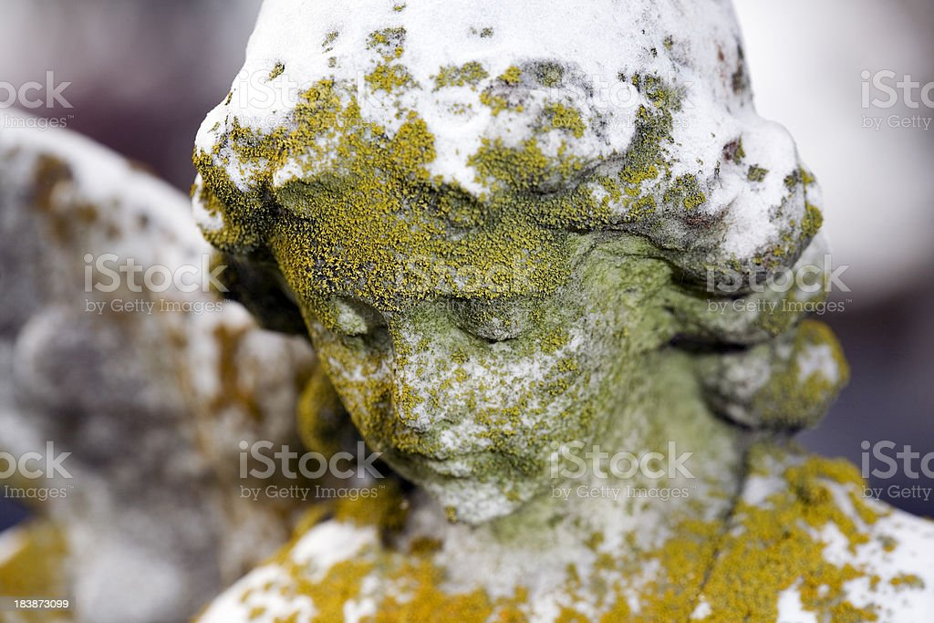 Angel Cemetery Statue royalty-free stock photo