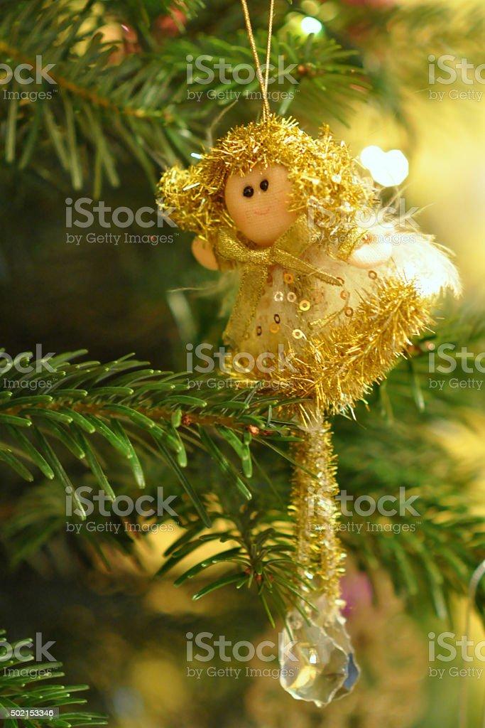 Angel - Christmass Tre Decoration stock photo