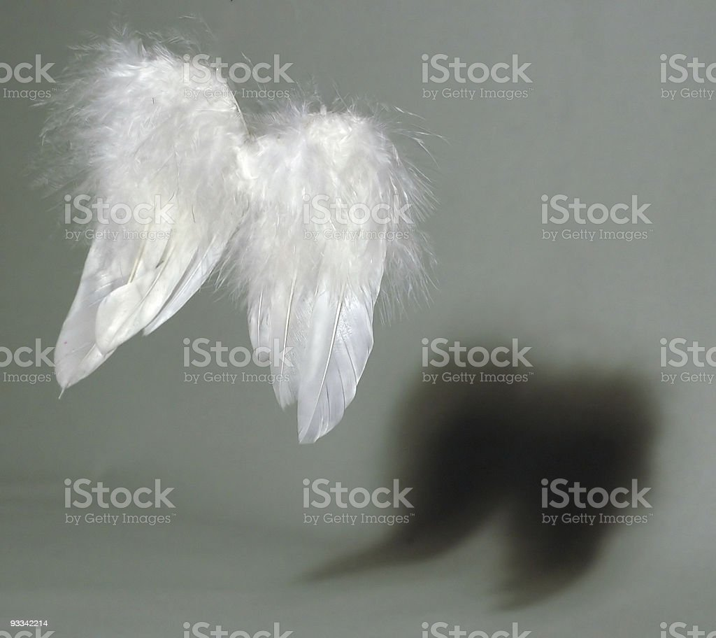 Angel & Daemon stock photo