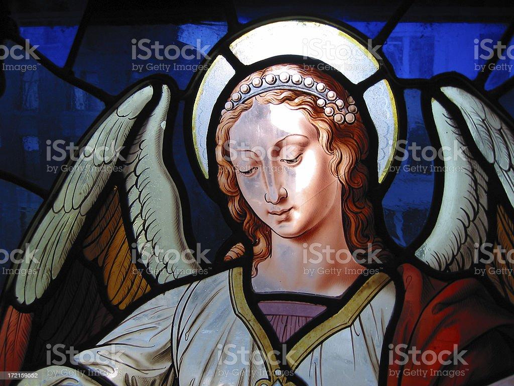 angel, detail stock photo