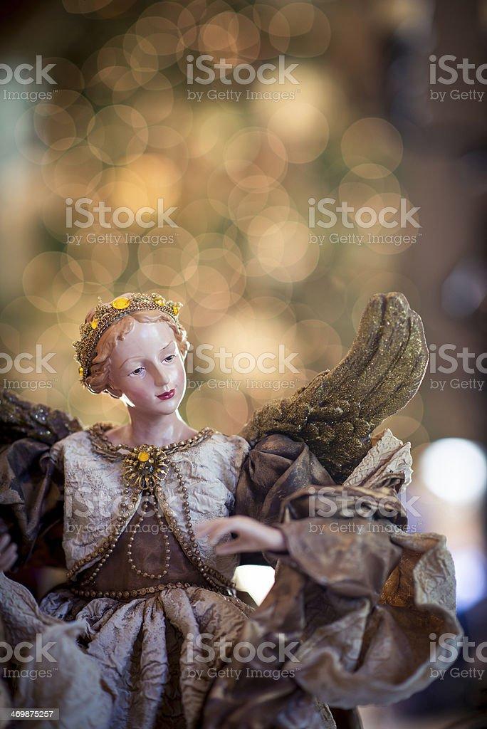 Angel Figurine royalty-free stock photo