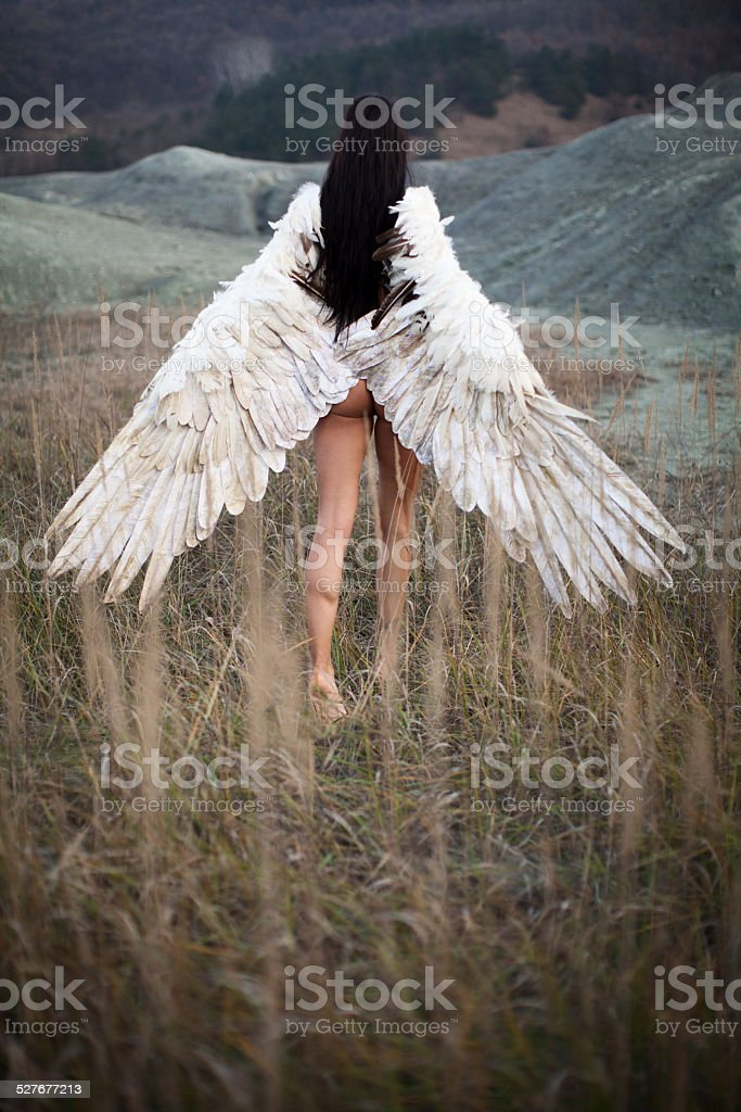 Angel from haven stock photo