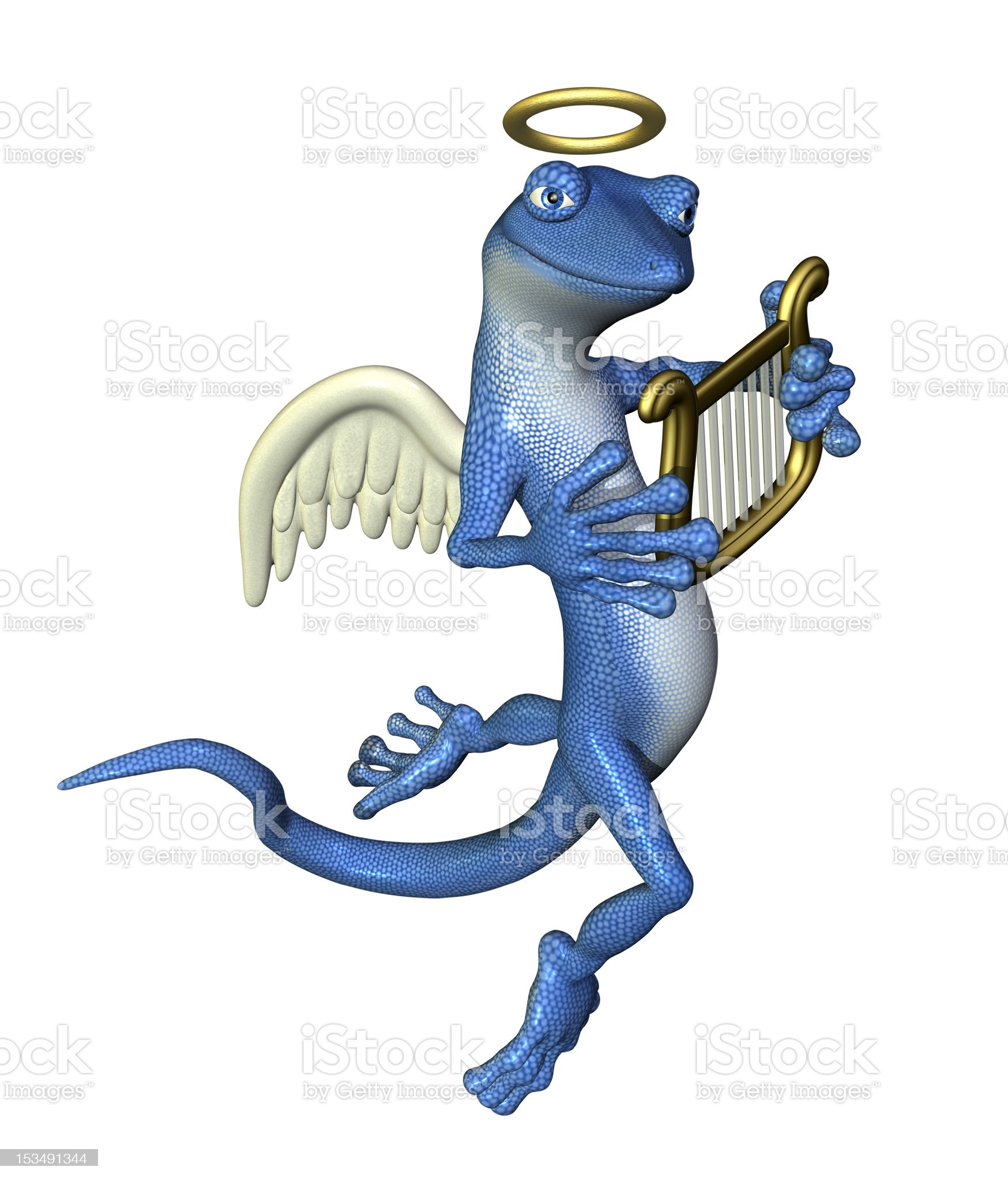 Angel Gecko royalty-free stock photo