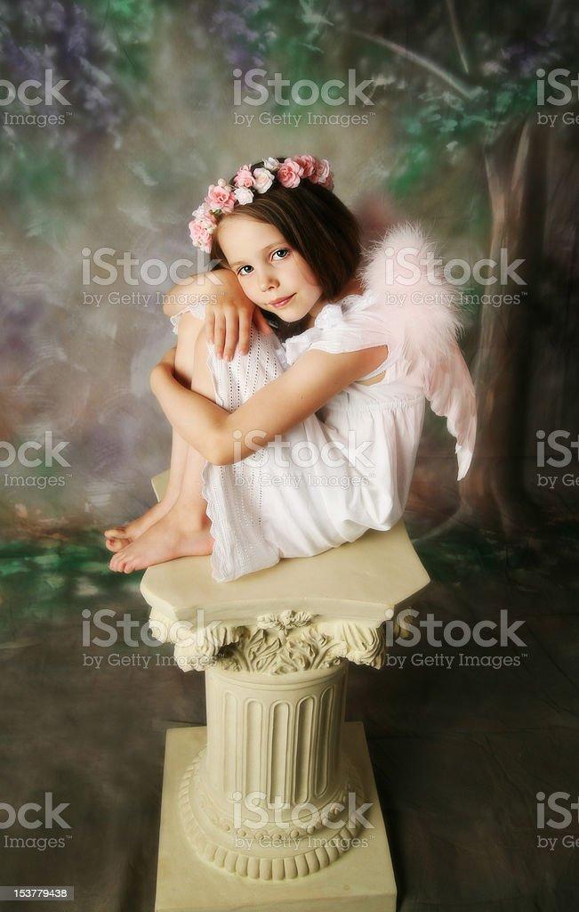 Angel Girl stock photo