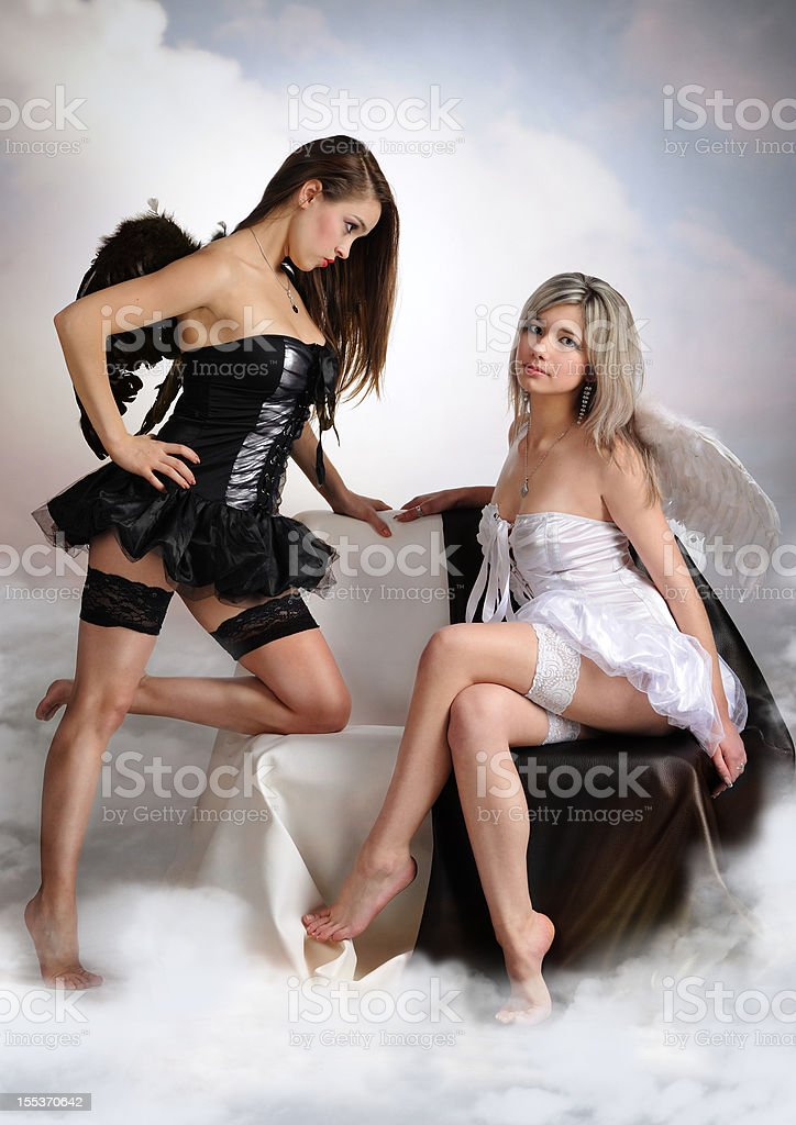 angel girl royalty-free stock photo