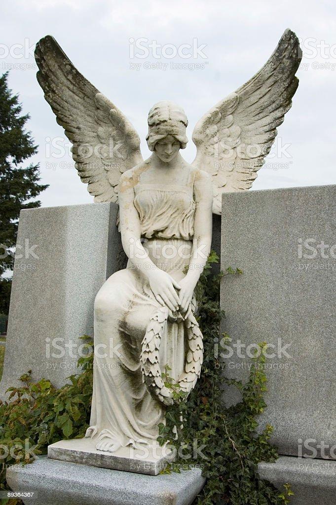Angel in Prayer royalty-free stock photo