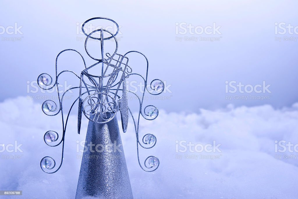 Angel in the Clouds royalty-free stock photo