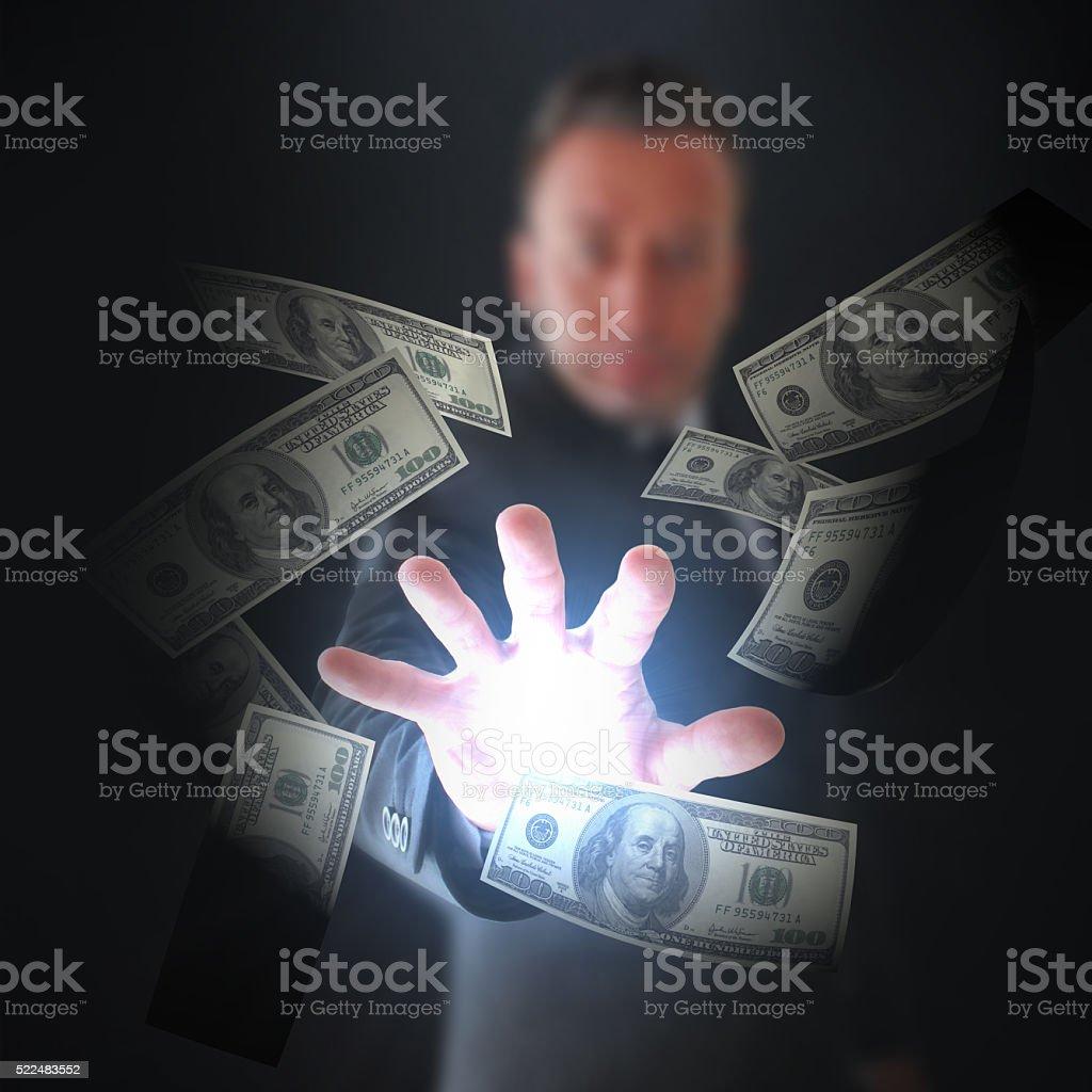 Angel Investor stock photo