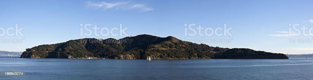 Angel Island Panoramic royalty-free stock photo