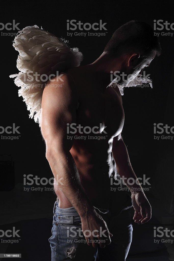 angel man royalty-free stock photo
