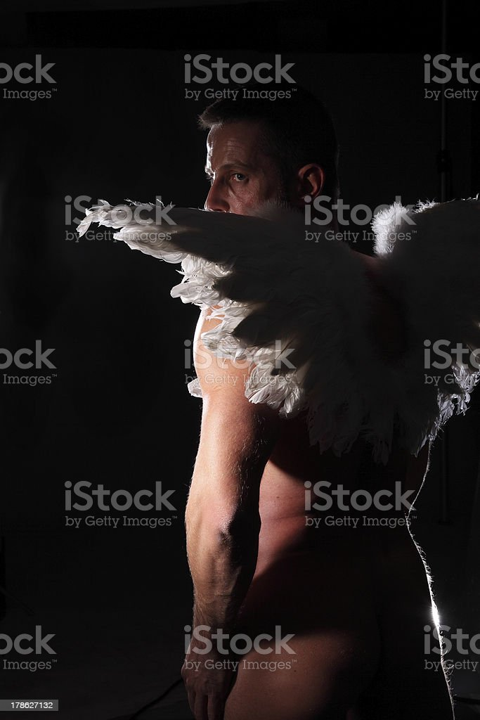 angel man royalty-free stock photo