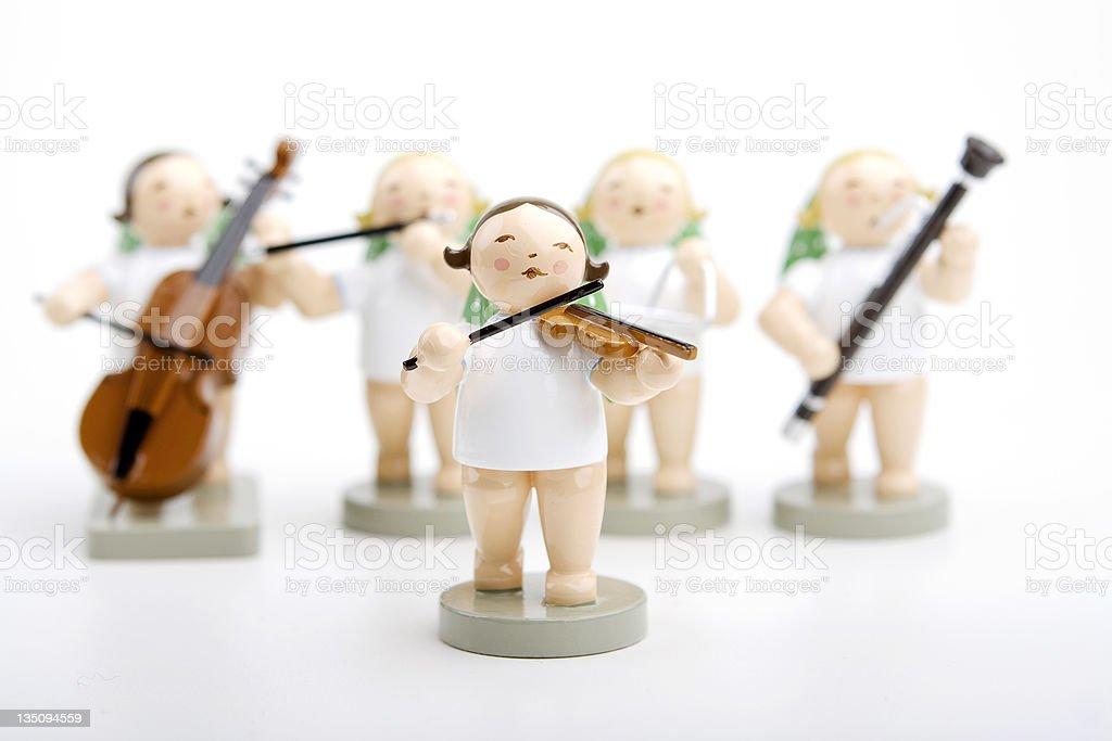 angel musician royalty-free stock photo