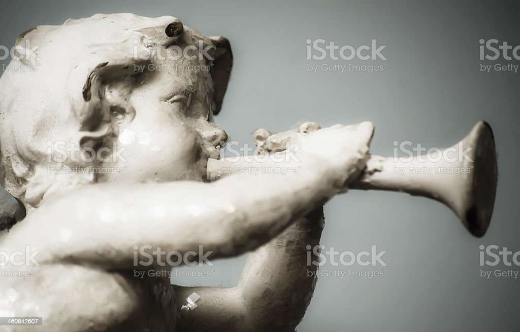 Angel Musician royalty-free stock photo